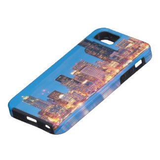 Blue hour view of downtown Seattle iPhone 5 Covers