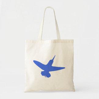 Blue Hummingbird Bag