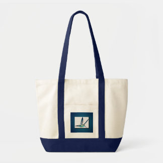 Blue Hummingbird Impulse Tote Bag