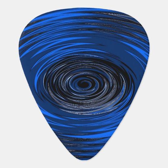 Blue Hurricane Guitar Pick