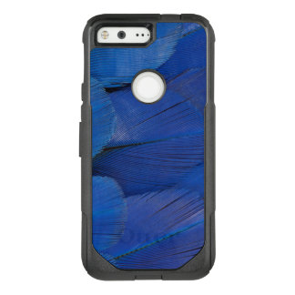 Blue Hyacinth Macaw Feather Design OtterBox Commuter Google Pixel Case