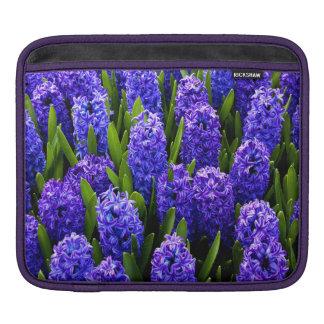 Blue Hyacinths iPad Sleeve
