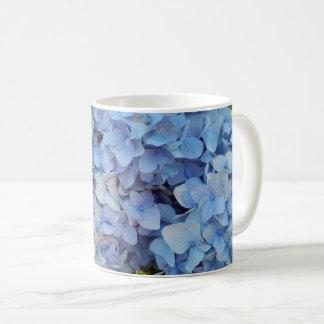 Blue hydrangea 2 coffee mug