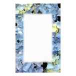 Blue Hydrangea Blossoms Custom Stationery