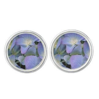 Blue Hydrangea Cufflinks