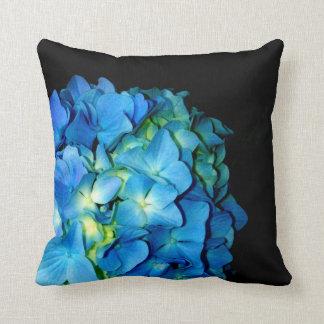 Blue Hydrangea Cushion