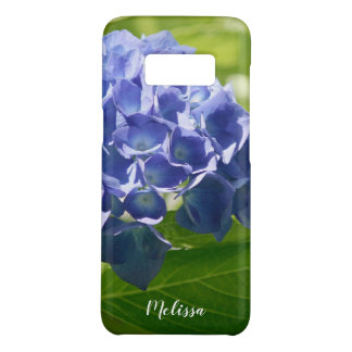 Blue Hydrangea Floral Custom Case-Mate Samsung Galaxy S8 Case