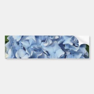 Blue Hydrangea Flower Bumper Sticker