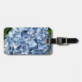 Blue Hydrangea Flower Luggage Tag