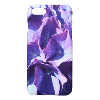 Blue Hydrangea Flowers Close Up Photo iPhone 8/7 Case