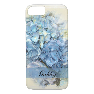 Blue Hydrangea Flowers iPhone 8/7 Case