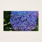 Blue Hydrangea Thank you Gift Tag