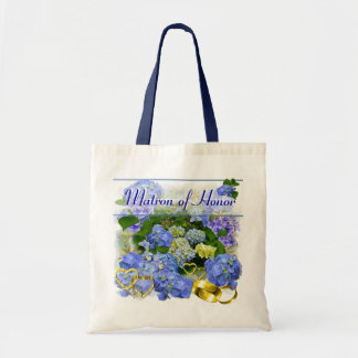 BLUE HYDRANGEA  ~ Wedding Tote Tote Bag
