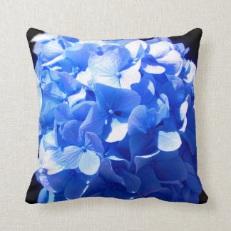 Blue Hydrangea Throw Pillow : Hydrangea Cushions - Hydrangea Scatter Cushions Zazzle.co.uk