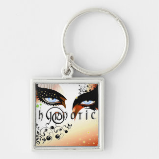 Blue Hypnotic Eyes Make Up Key Ring