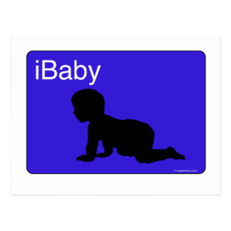 Blue iBaby Post Cards