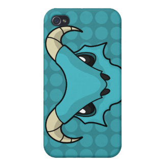 Blue Ice Breathing Dragon iPhone 4/4S Case
