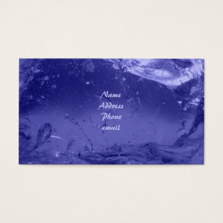 Blue Ice Business Card