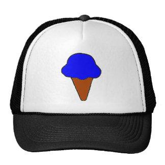 Blue Ice Cream Cone Cap