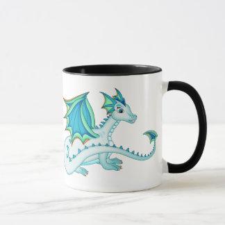 Blue Ice Dragon Mug