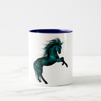 Blue Ice Two-Tone Coffee Mug