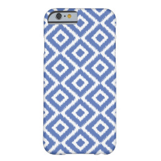 Blue Ikat Diamonds Barely There iPhone 6 Case