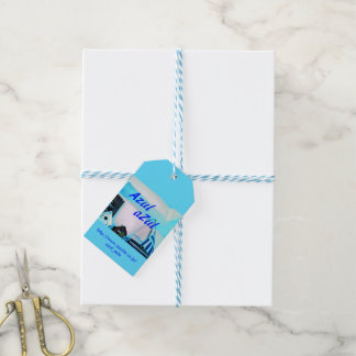 Blue image gift tag Part 1
