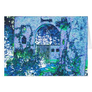 Blue image message card Part 1