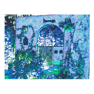 Blue image post card Part 1