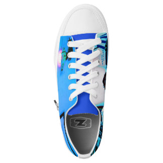 Blue image shoes Part 1 Printed Shoes