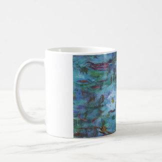 Blue Impressionist Mug