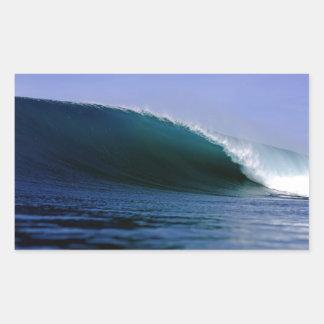 Blue Indian ocean surfing wave Sticker