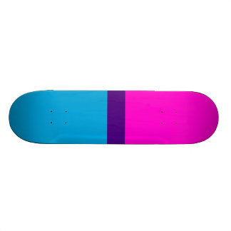 Blue Indigo Rose Skate Board Decks