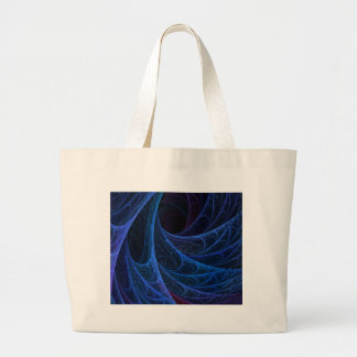 Blue Into The Depths Large Tote Bag