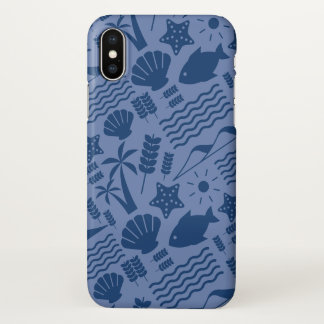 Blue Iphone layer Sea Nature iPhone X Case