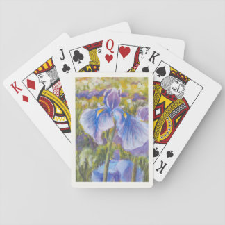 Blue Iris Playing Cards