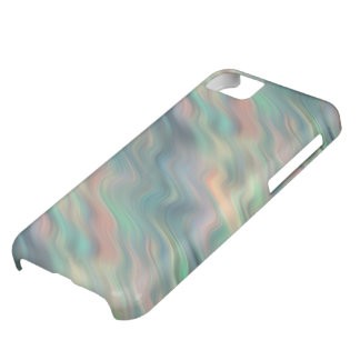 Blue Iris Wavy Texture iPhone 5C Case