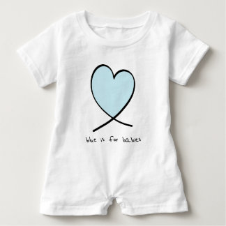 Blue Is For Babies Baby Bodysuit