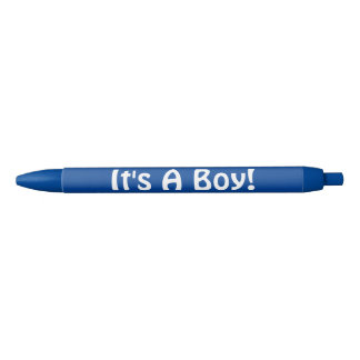 Blue It's A Boy Hand Out Pens