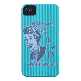 Blue Its and It's Blackberry Case