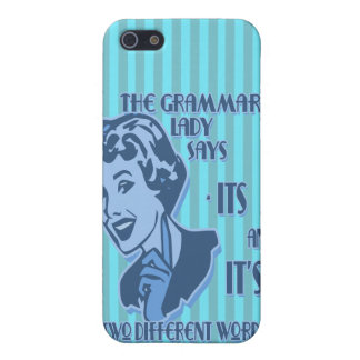 Blue Its and It's iPhone Speck Case iPhone 5/5S Covers