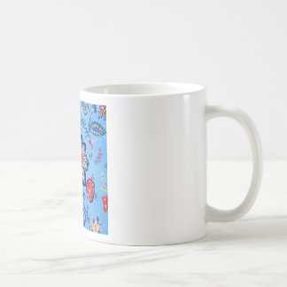 blue jacobian basic white mug