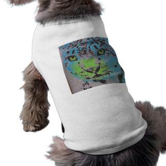 Blue Jaguar Sleeveless Dog Shirt