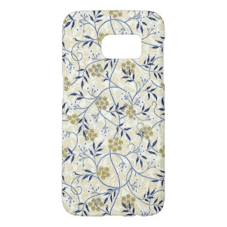 Blue Jasmine Samsung Galaxy S7 Barely There Case
