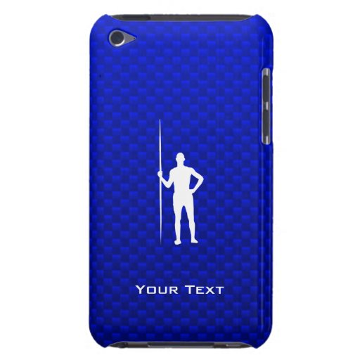 Blue Javelin Throw Barely There iPod Cover