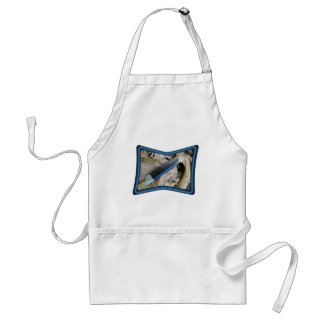 Blue Jay Feather Coordinating Items Aprons