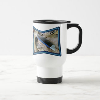 Blue Jay Feather Coordinating Items Stainless Steel Travel Mug