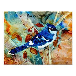 Blue Jay in the Tree Invitation