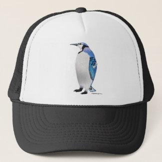 Blue Jay Penguin Trucker Hat
