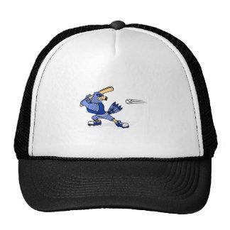 Blue Jay Playing Baseball Hats